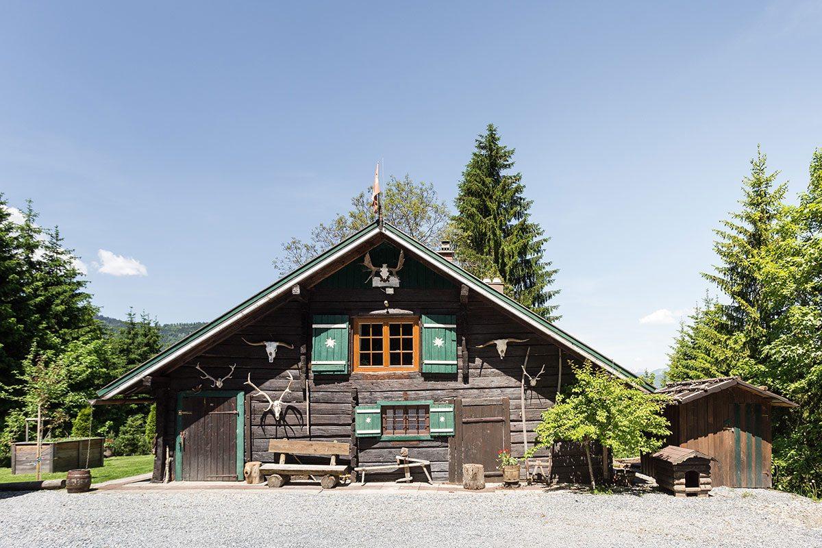 Außenbereich - Design Ferienhaus Almhütte XL Ski Amadé, St. Veit im Pongau