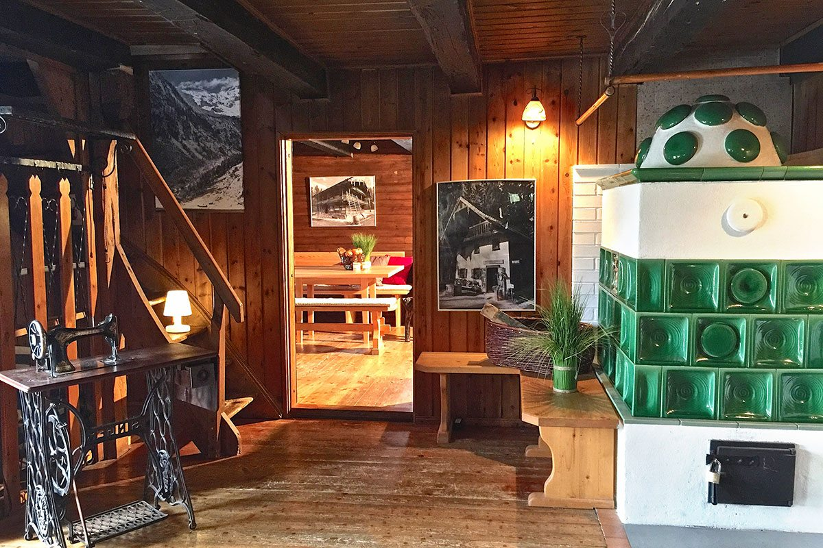 Kachelofen - Design Ferienhaus Almhütte XL Ski Amadé, St. Veit im Pongau