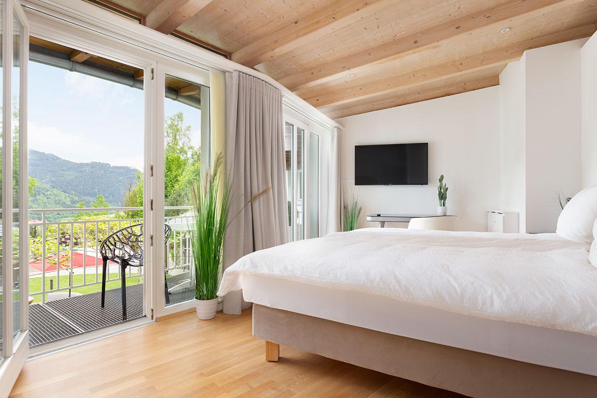 Design Ferienhaus Architektenrundvilla Kärnten
