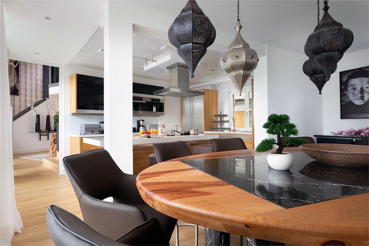 Design Ferienhaus Architektenrundvilla Kärnten, Micheldorf