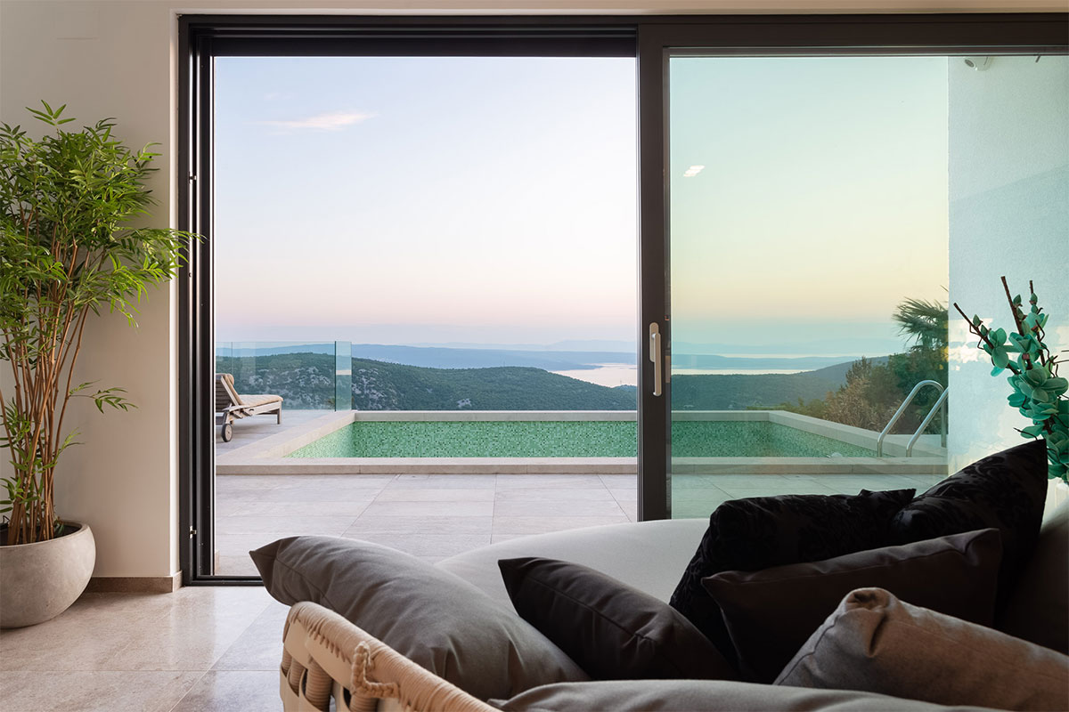 Design Ferienhaus Mountain Villa Kvarnerbucht in Kroatien
