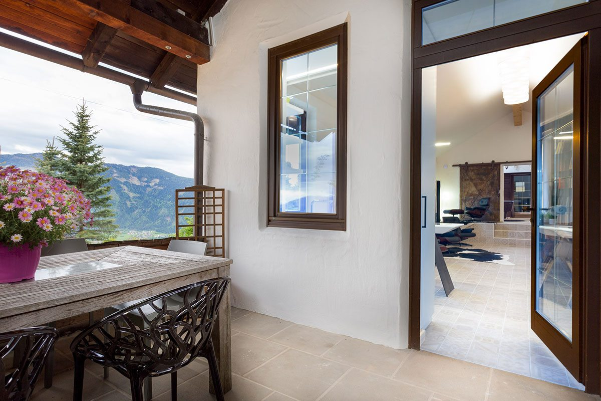Küche - Design Ferienhaus Berg Chalet Millstätter See