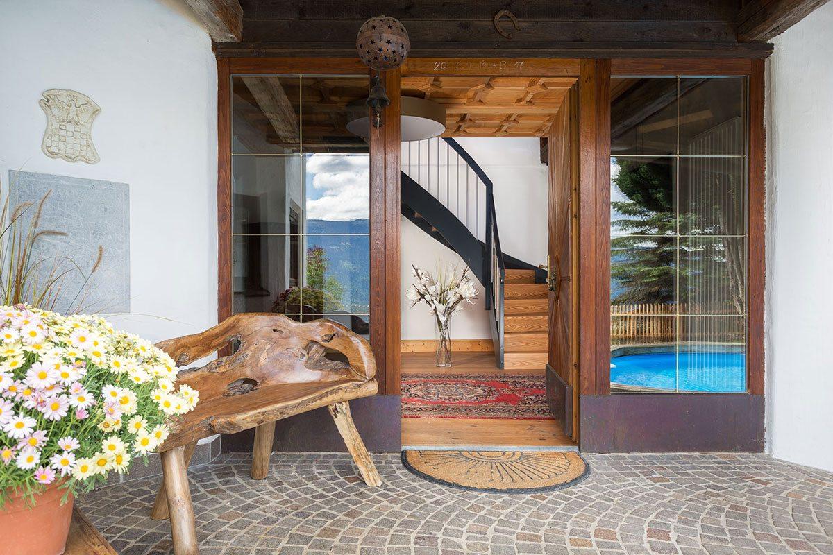 Eingang - Design Ferienhaus Berg Chalet Millstätter See