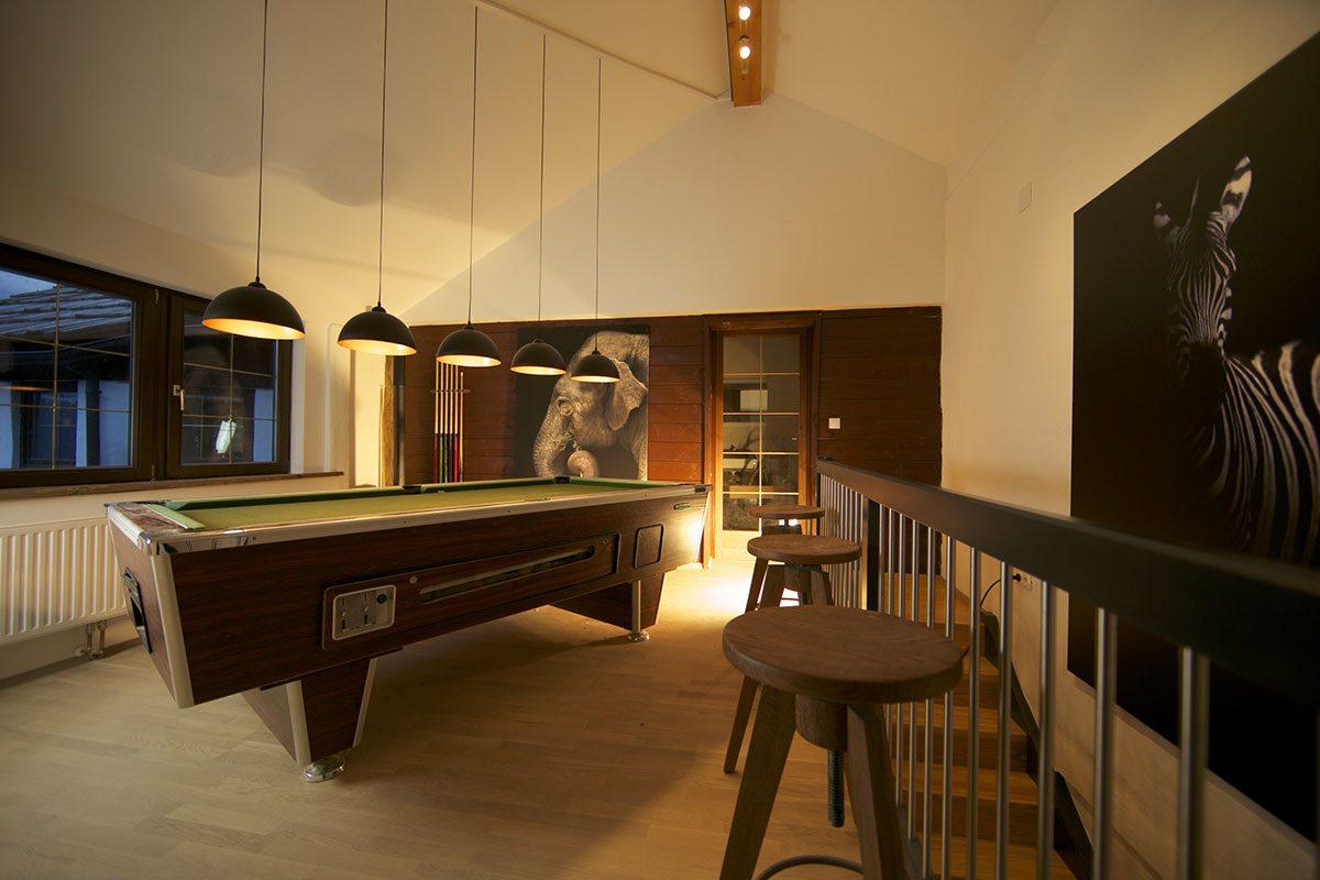 Wohnbereich - Design Ferienhaus Berg Chalet Millstätter See