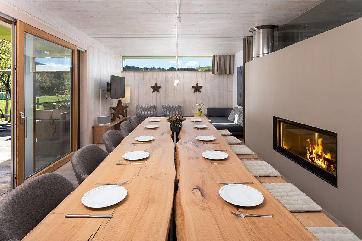 Küche & Essbereich - Design Ferienhaus Chalet Altenmarkt-Zauchensee, Ski amadé