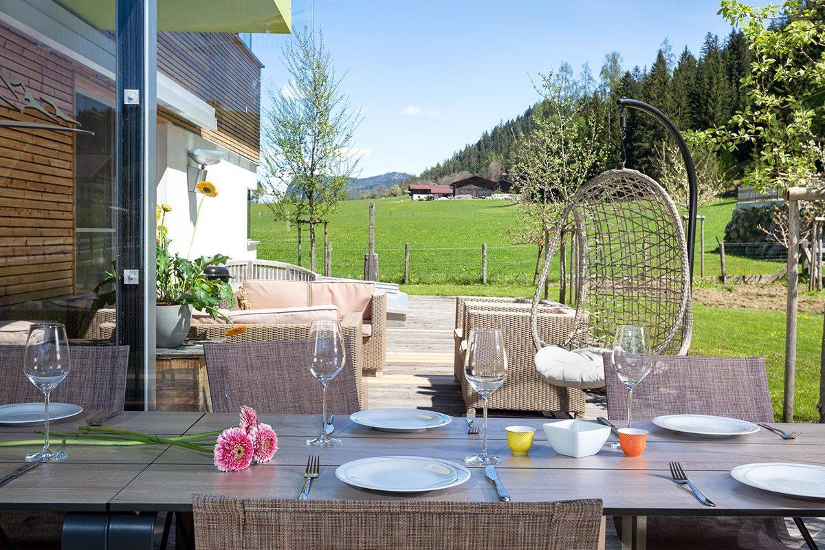Außenbereich - Design Ferienhaus Chalet Altenmarkt-Zauchensee, Ski amadé