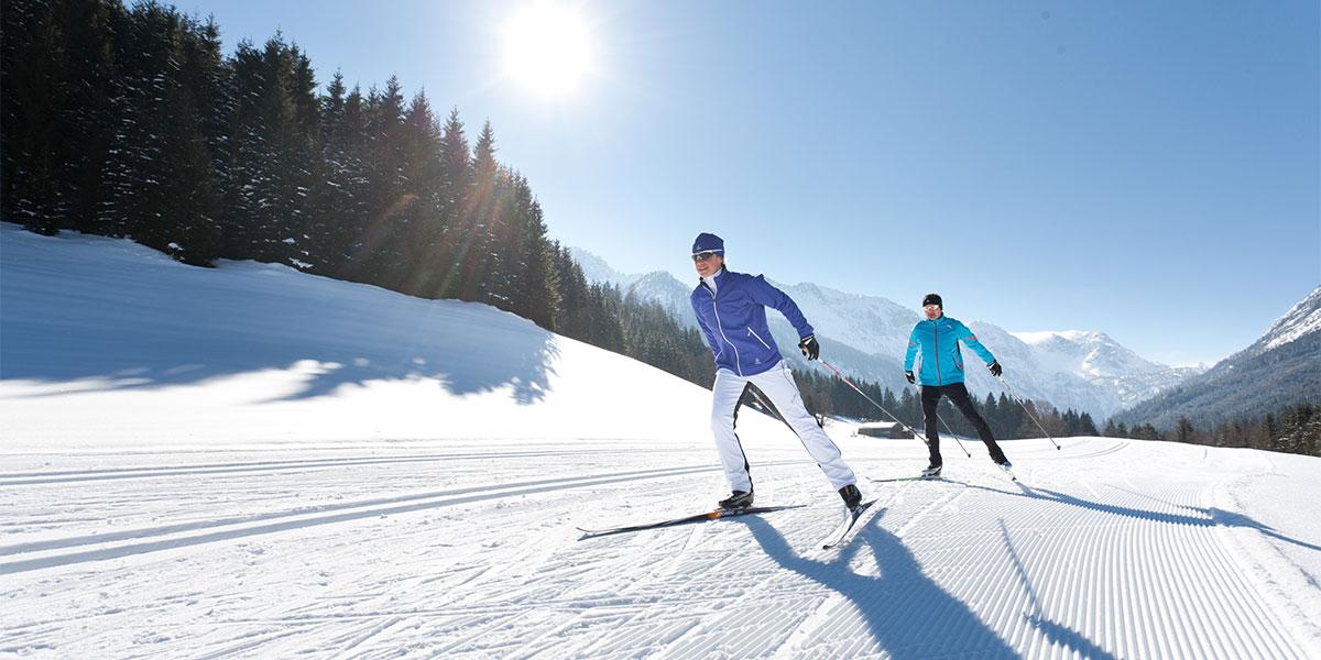 Langlaufen - Winterurlaub im Salzburger Land