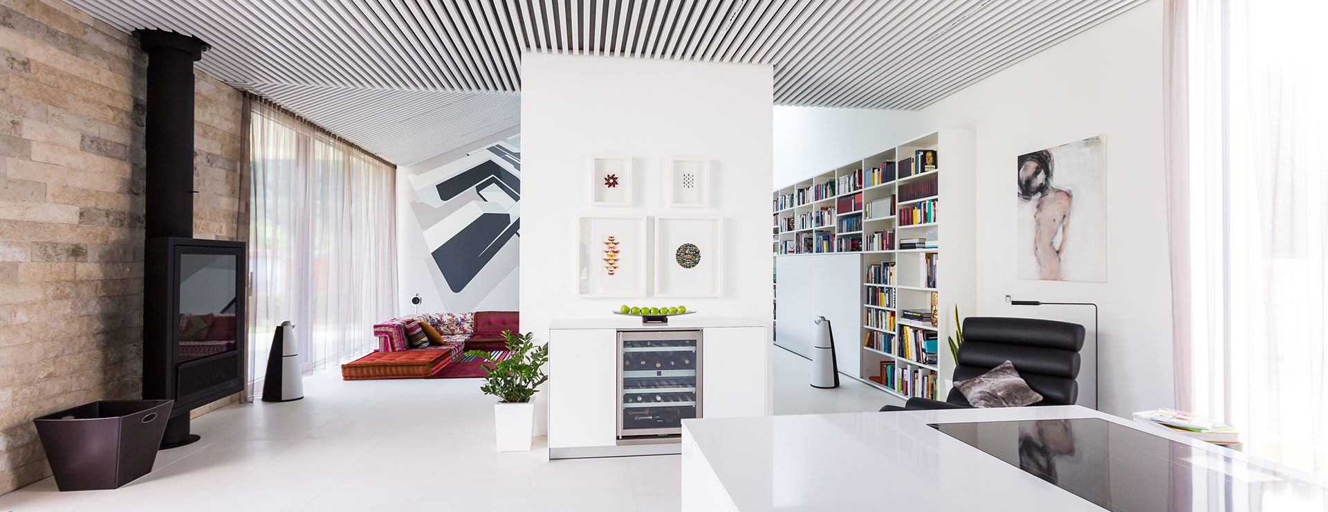 Luxus-Ferienhaus mieten, Design Ferienhaus in Kärnten, Millstätter See