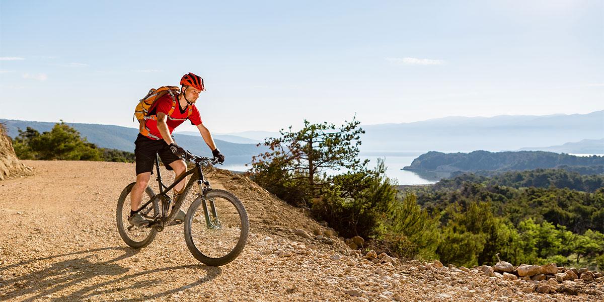 Mountainbiken - Urlaub in Kroatien, Riviera Crikvenica