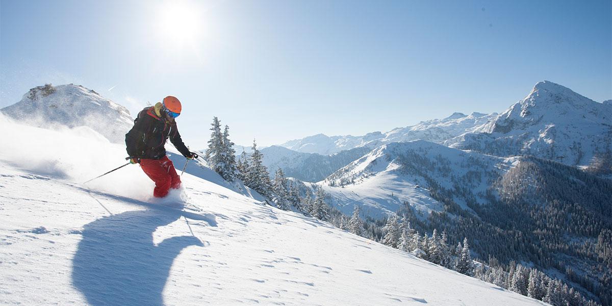 Skifahren - Winterurlaub in Wagrain