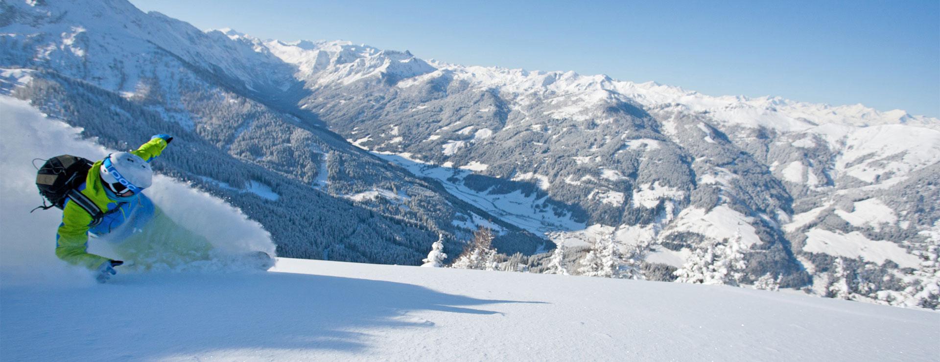 Snowboarden - Winterurlaub in Wagrain