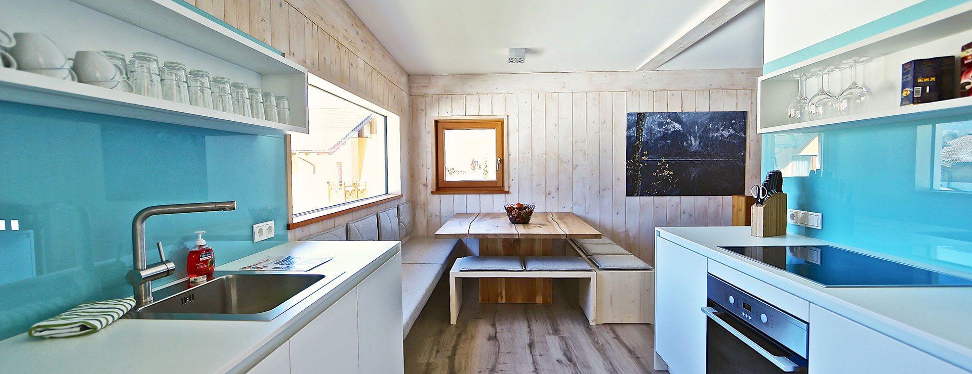 Küche - Design Ferienhaus Chalet Altenmarkt-Zauchensee, Ski amadé
