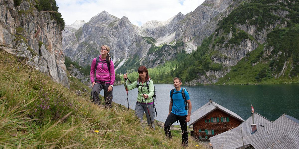 Wandern im Sommerurlaub in Wagrain