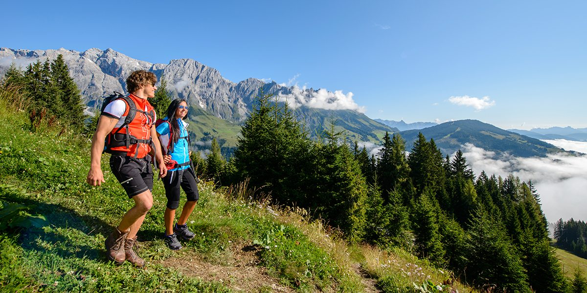 Wanderurlaub & Sommerurlaub in der Region Ski amadé