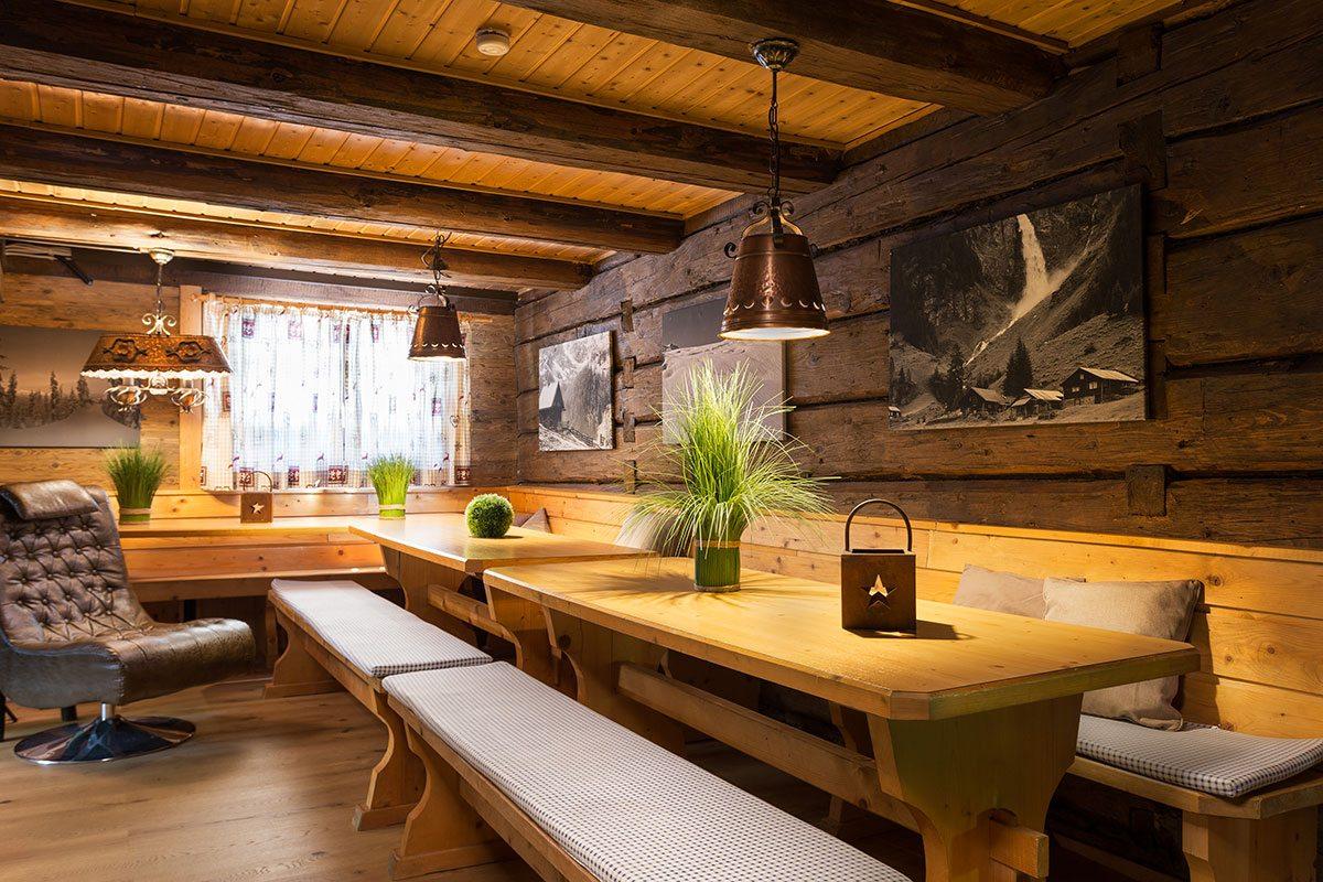 Wohnzimmer - Design Ferienhaus Almhütte XL Ski Amadé, St. Veit im Pongau
