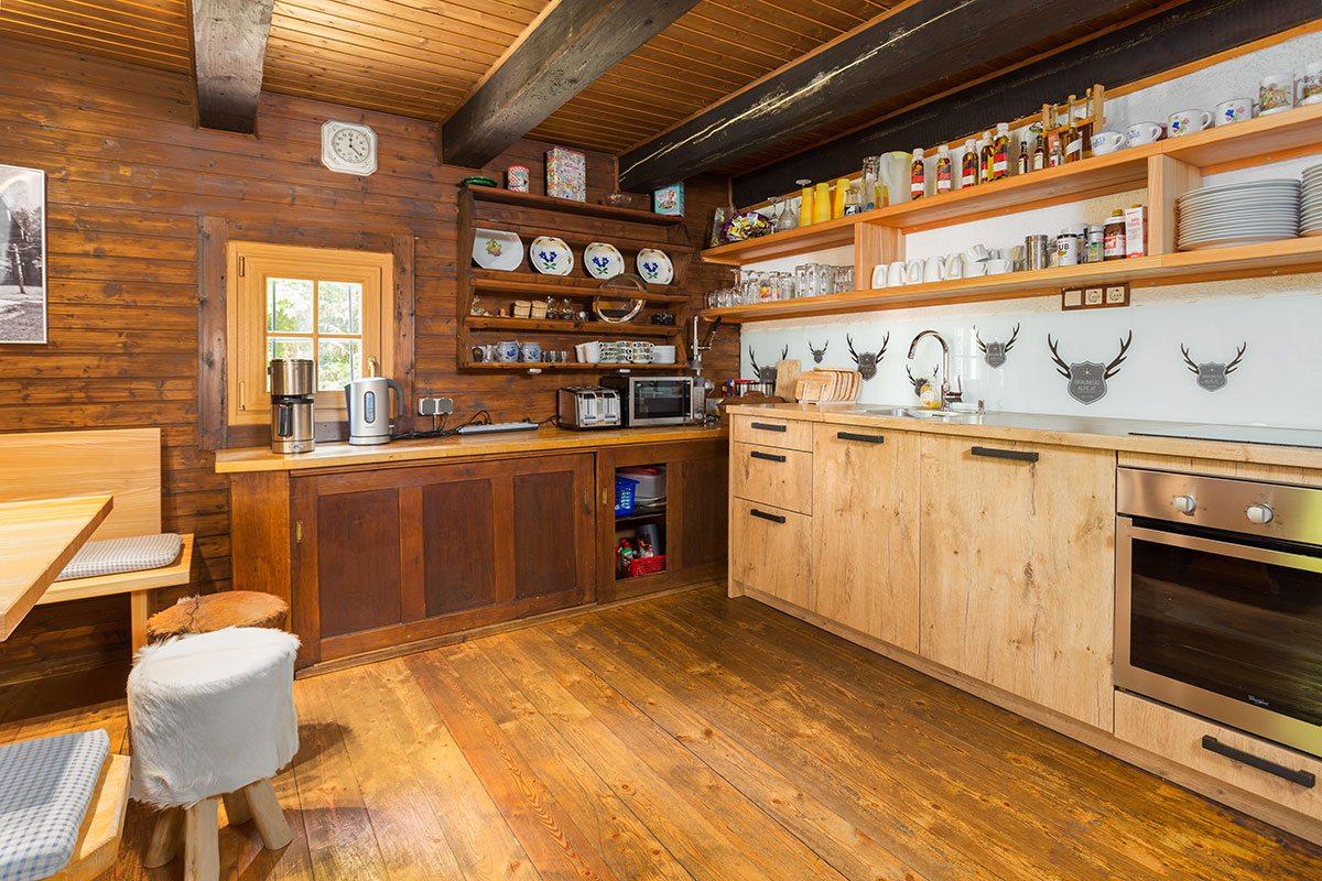 Küche - Design Ferienhaus Almhütte XL Ski Amadé, St. Veit im Pongau
